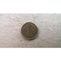 Польша 1 грош, 2012г.