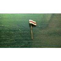 Знак. Флаг (Бело-красно-белый, 12 х 9 мм.)