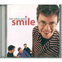 CD Matt Wilson Quartet - Smile (1999) Post Bop, Avant-garde Jazz