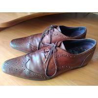 Туфли кожаные 42-43р(INDIA)