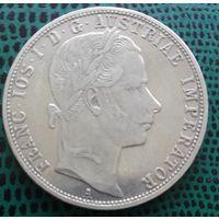 1 флорин, Австро-Венгрия, 1859
