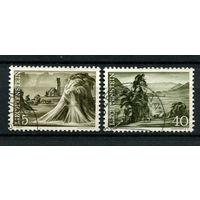 Лихтенштейн - 1961 - Пейзажи и сельское хозяйство  - [Mi. 404-405] - полная серия - 2 марки. Гашеные.  (Лот 59N)