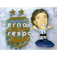 Hernan Crespo Аргентина 5 см Фигурка футболиста MC3113