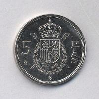 Испания, 5 песет 1983 г.
