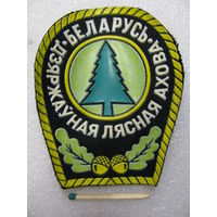 Шеврон. Государственная лесная охрана Беларусь