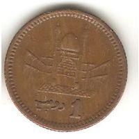 1 рупия 2001 Пакистан
