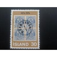 Исландия 1976 100 лет исл. марке