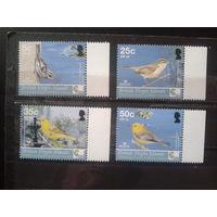 Британские Виргинские о-ва 2005 Птицы** Михель-2,5 евро