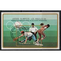 Никарагуа /1984/ Летние Олимпийские Игры / Лос Анджелес - 84 / Бейсбол / Блок