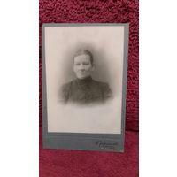 Фото женщины до 17 года.Фотограф Н.Л.Соколов.Смоленск