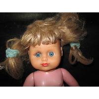 Кукла из СССР.высота 37 см.