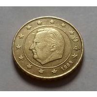 10 евроцентов, Бельгия 1999, 2001 г.