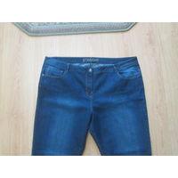 Женские джинсы с лайкрой 56 р
