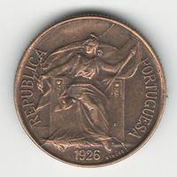Португалия 50 сентавос 1926 года. Редкая!