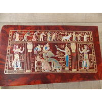 Шкатулка из кожи, Египет