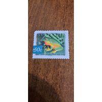 Австралия 2003. Древесная лягушка. Марка из серии