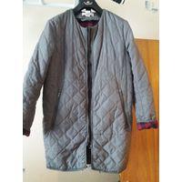 Стеганая куртка H&M Оверсайз