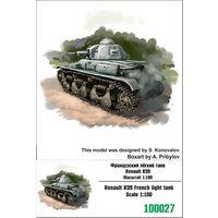 """ZEBRANO"" 100027. Французский лёгкий танк Renault R39"