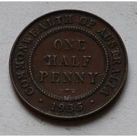 Австралия, 1/2 пенни 1935 год