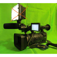 Видеокамера SONY HDR-AX 2000E с аксессуарами