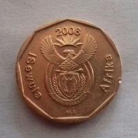 20 центов, ЮАР 2008 г.