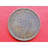 Ирландия фартинг 1805г. Георг III.