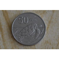 Остров Кука 50 центов 1988