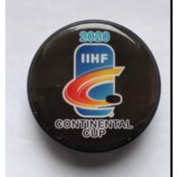 Хоккей - Сувенирная шайба Континентального кубка 2020. Участник ХК Неман Гродно