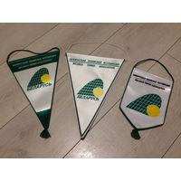 Вымпел флаг белорусская теннисная ассоциация большой теннис спорт Davis CUP Belarus vs USA
