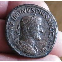 Римская империя, Максимин Фракиец, 235-238 гг., сестерций.