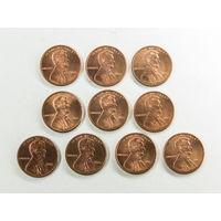 1 цент США 2006. Поштучно