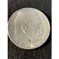 5 рейхсмарок Германия (Третий Рейх) 1935 год A.Серебро 900.118
