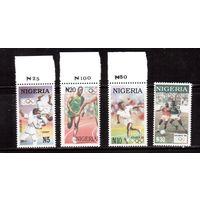 Нигерия-1996 (Мих.666-669) ** , Спорт, ОИ-1996 в Атланте