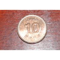 Южная Корея 10 вон