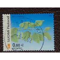 Финляндия 2002г. Флора