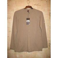 Фирменный свитер Colins на 54-56 размер, отличный состав 70 шерсти, 30 акрилика.  Новый с биркой рукав тут идет немного приспущен в подмышках ПО 48, талия ПО от 64 см, очень хорошо тянется. Приятный п