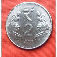 21-21 Индия, 2 рупии 2011 г. (Калькутта)