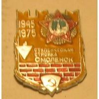 Студотряд Смоленск 1975 год