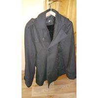 Пальто зимнее черное рост 170-176 новое