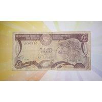 Кипр 1 лира 1982г.