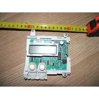 ARISTON ATD104 запчасти: электронный модуль с дисплеем, впускной клапан, сетевой фильтр, тен, датчик, насос слива