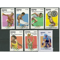 Никарагуа 1983 (Ми-2346-52,) Олимпиада спорт