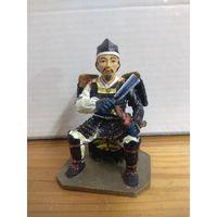 Солдатик НЕ оловянный(военно-историческая миниатюра) самурай Del prado (Дель прадо) Ashikaga Yoshiaki  1537-1597