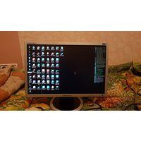 Монитор 19 дюймов, Samsung SyncMaster 940NW, с полосой на экране и парой царапин, разрешение 16:10, 1440x900, TN+Film, интерфейсы D-Sub (VGA), матовый, кратность 700:1, углы обзора верт. и диаг.
