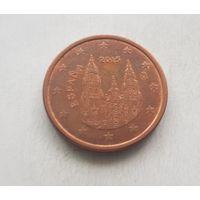 5 евроцентов 2015 Испания