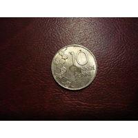 10 пенни 1990 год Финляндия