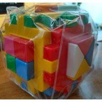 Логический куб много деталей новый