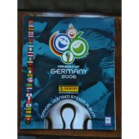 Альбом Panini reprint фабричная копия Чемпионат мира 2006. потертости на обложке. внутри идеален