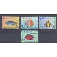 [163] Филиппины 1972. Фауна.Рыбы.