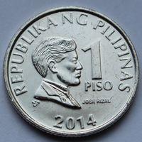 Филиппины, 1 писо 2014 г
